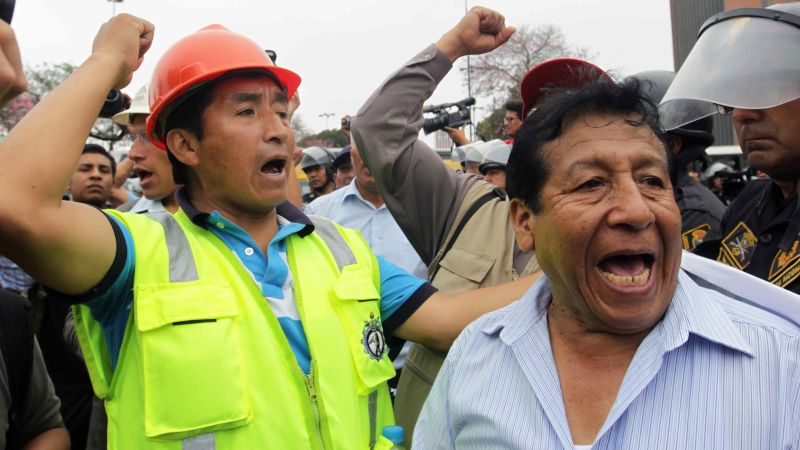 Peru declares state of emergency over mining violence | CNN